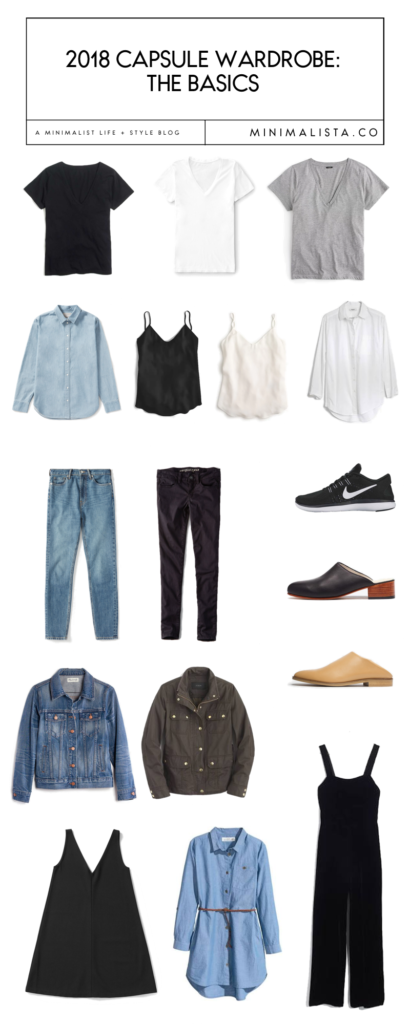 Basic Capsule Wardrobe Guide